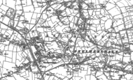 Old Map of Chapel House, 1891 - 1892