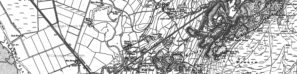 Old map of Chapels in 1911