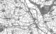 Old Map of Chapelton, 1886