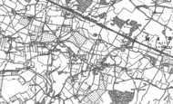 Old Map of Charing Heath, 1896