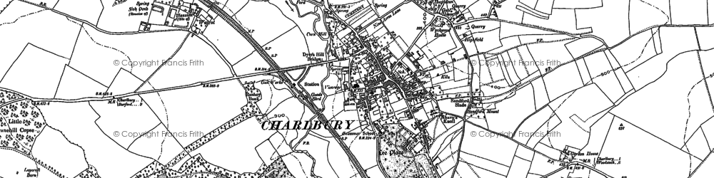 Old map of Lee's Rest in 1898
