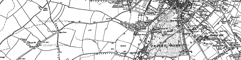 Old map of Charlton in 1897