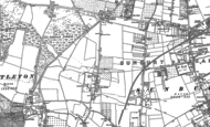 Old Map of Charlton, 1912 - 1913