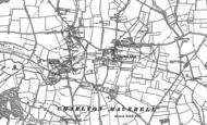 Old Map of Charlton Adam, 1885