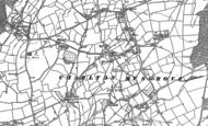 Old Map of Charlton Musgrove, 1885 - 1902