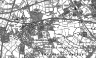 Old Map of Cheadle, 1905 - 1935