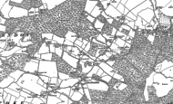 Old Map of Checkendon, 1897 - 1912