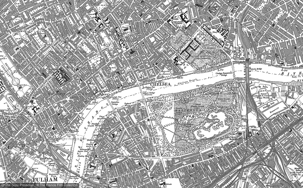 Map of Chelsea, 1895