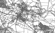 Old Map of Chertsey, 1894 - 1895