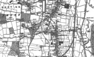 Old Map of Cheshunt, 1912