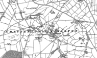 Old Map of Chesterton, 1885