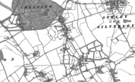 Old Map of Cheveley, 1884 - 1901