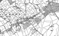 Old Map of Chigwell Row, 1895