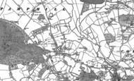 Old Map of Chilbridge, 1887