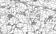 Old Map of Chilcombe, 1886 - 1901