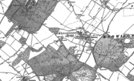 Old Map of Chillenden, 1872 - 1896