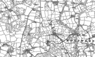 Map of Chilsworthy, 1883 - 1905