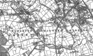 Old Map of Chilvers Coton, 1902