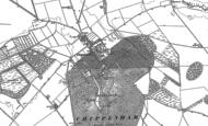Map of Chippenham, 1884 - 1901