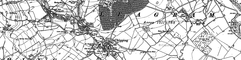 Old map of Windy Harbour in 1910