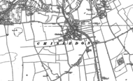 Old Map of Chiseldon, 1899 - 1922