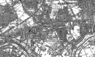 Old Map of Chiswick, 1893 - 1894