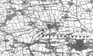 Old Map of Chittlehampton, 1887