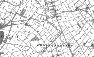 Old Map of Cholmondeston, 1897