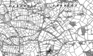 Old Map of Chorley, 1882 - 1883