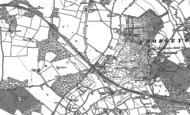 Old Map of Chorleywood, 1913