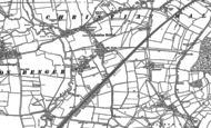 Old Map of Christian Malford, 1899