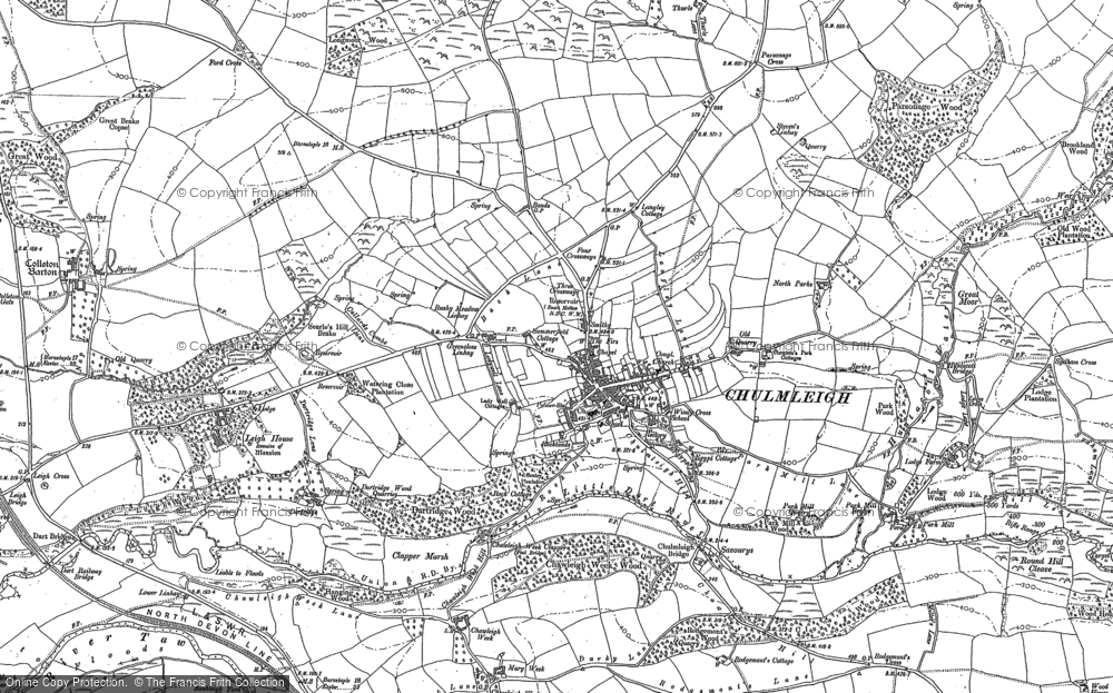Old Maps of Chulmleigh Francis Frith