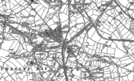 Old Map of Churchbridge, 1883