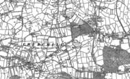Old Map of Churchill, 1883 - 1884