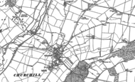 Old Map of Churchill, 1898