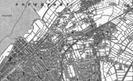 Old Map of Churchtown, 1892 - 1893