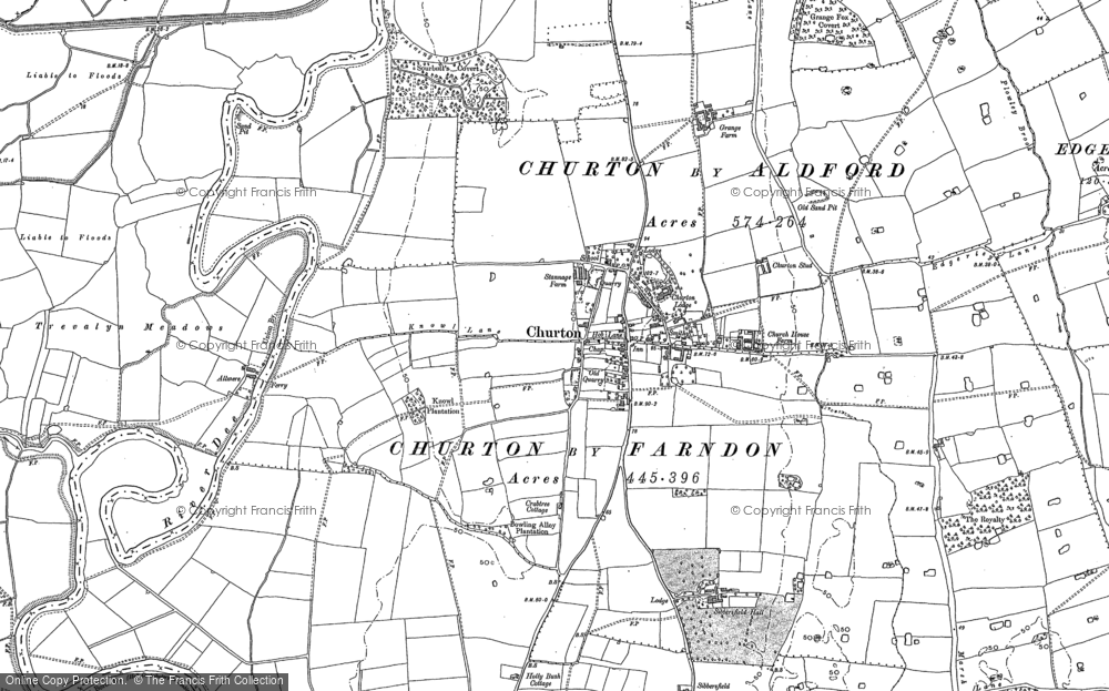 Old Map of Historic Map covering Almere in 1909