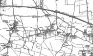 Old Map of Cippenham, 1897 - 1910