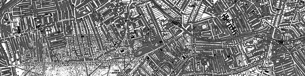 Old map of Stockwell in 1894