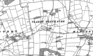 Old Map of Claxby Pluckacre, 1887