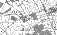 Old Map of Claxby St Andrew, 1887