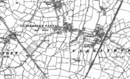 Old Map of Claybrooke Parva, 1901 - 1902