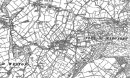 Old Map of Clee St Margaret, 1883