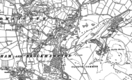 Old Map of Cleeve Hill, 1883