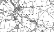 Old Map of Cleveley, 1898