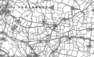 Old Map of Cleverton, 1898 - 1919