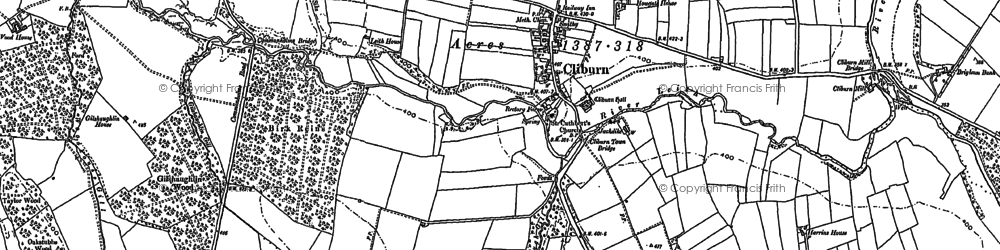 Old map of Leith Bank in 1897