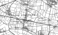 Old Map of Cliffe, 1889 - 1890
