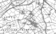 Old Map of Clifford Chambers, 1883 - 1900