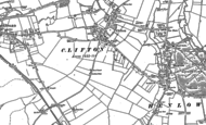Old Map of Clifton, 1882 - 1900